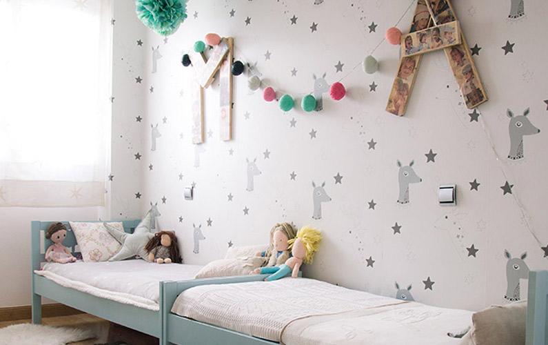 habitacion niño y niña