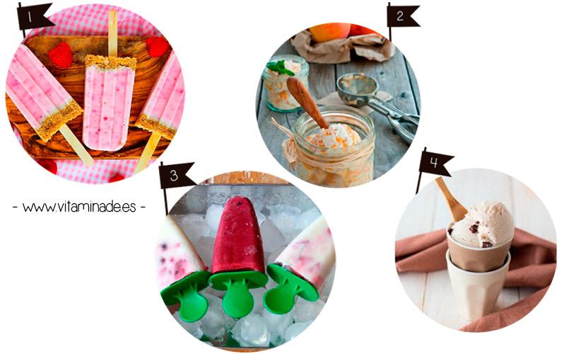 recetas helados