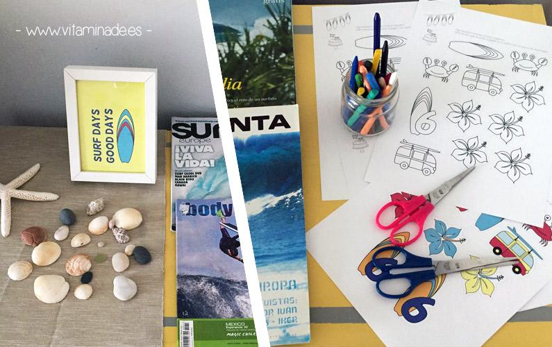 actividades para niños fiesta surf