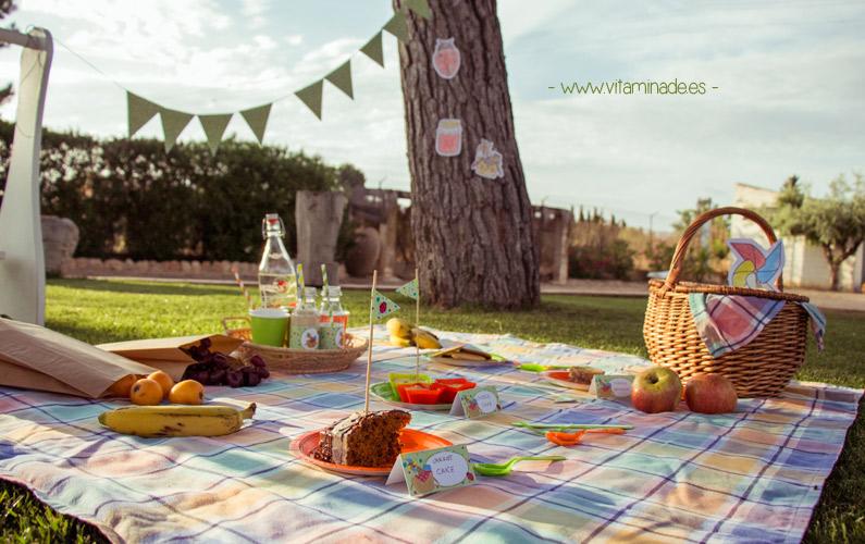 preparar un picnic