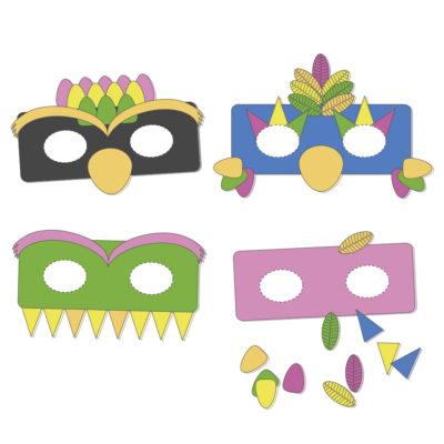 mascaras carnaval diy