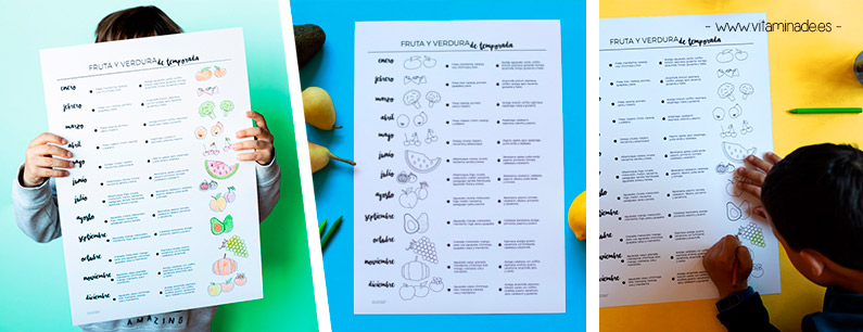 Consume fruta y verdura de temporada